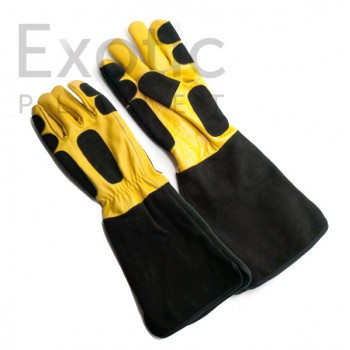 Reptile Handling Gloves - Leather