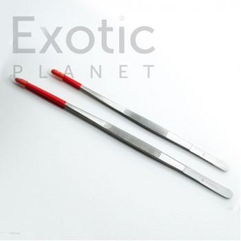 Rubber-Tipped Reptile Tweezers
